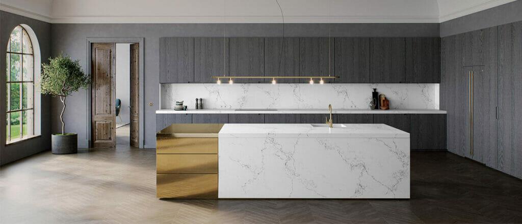 Empira White: An Elegant Interpretation of Authentic Calacatta Marble