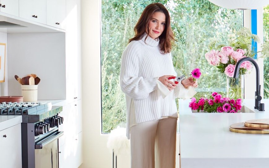 Actress Sophia Bush Chooses Caesarstone for LA Renovation Project