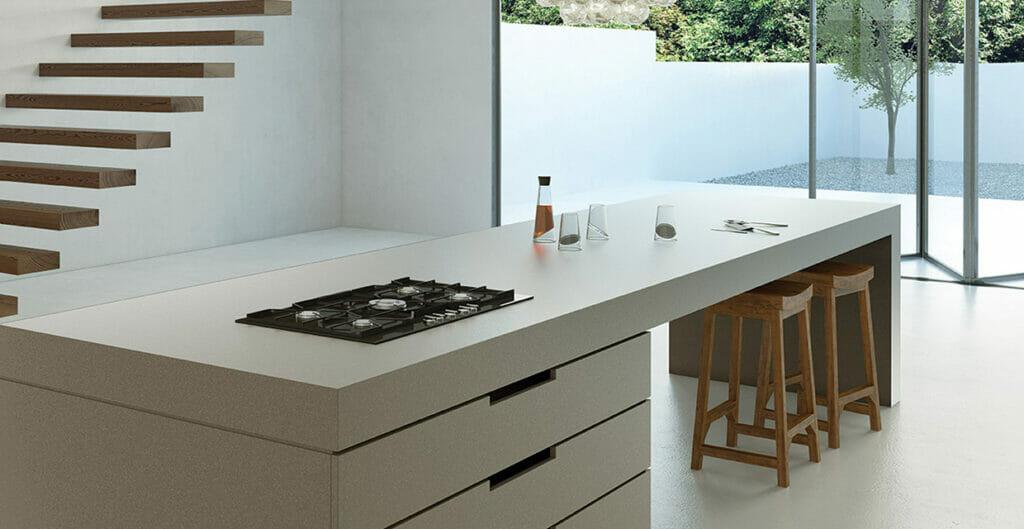 Countertop-Materials - 4003 Sleek Concrete