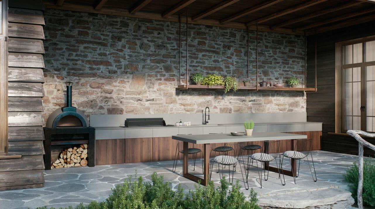 Clearskies 406 - Caesarstone Outdoor Countertop
